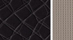 Modernus juodos / pilkos spalvos audinys